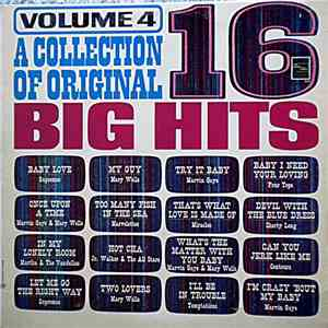Various - A Collection Of Original 16 Big Hits - Volume 4 album download