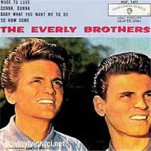 The Everly Brothers - Made To Love album download