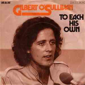 Gilbert O'Sullivan - To Each His Own album download