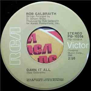 Rob Galbraith - Damn It All / Another One Night Stand album download